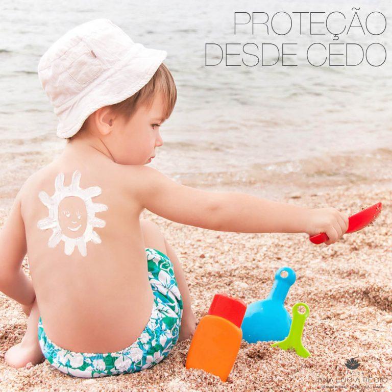 Fotoproteção: prevenção deve começar na infância
