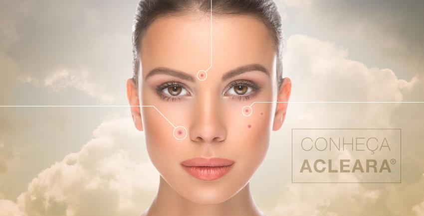 Uma nova opção de tratamento contra acne. Conheça o Acleara.