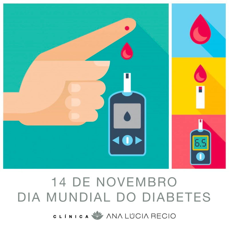 14 de Novembro. Dia Mundial do Diabetes