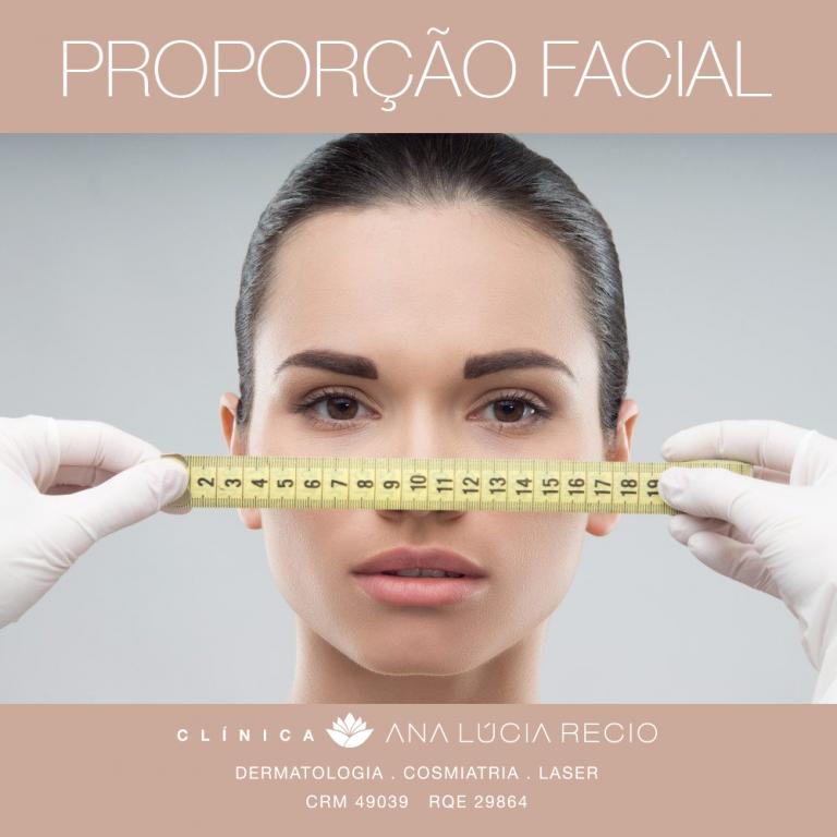 O papel das proporções áureas do rosto para preenchimento facial